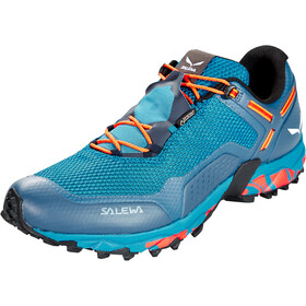 SALEWA Speed Beat GTX Scarpe Uomo, premium navy/spicy orange
